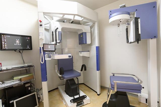 歯科用CT導入による精密な診断